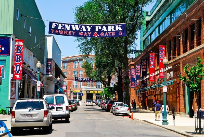 Maneira de Yawkey no parque de Fenway, Boston, miliampère.