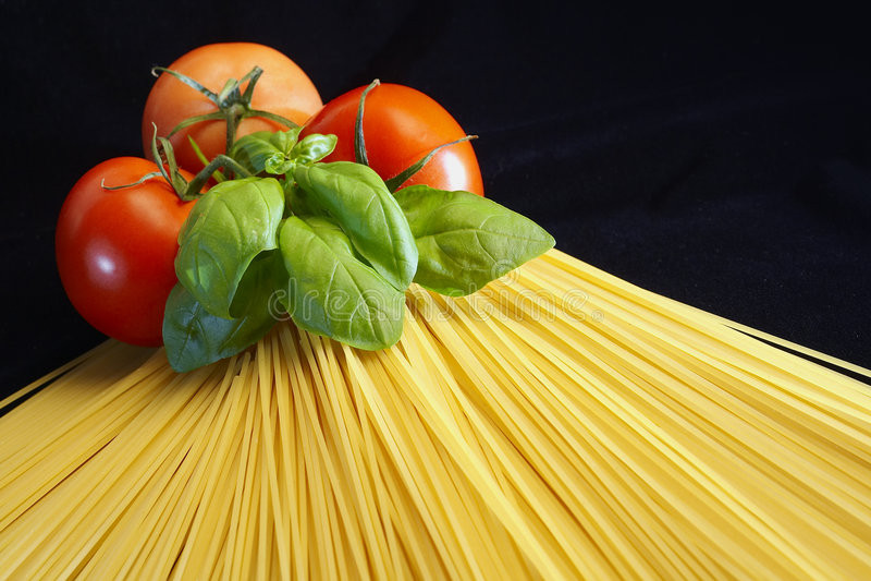 A maneira do espaguete foto de stock