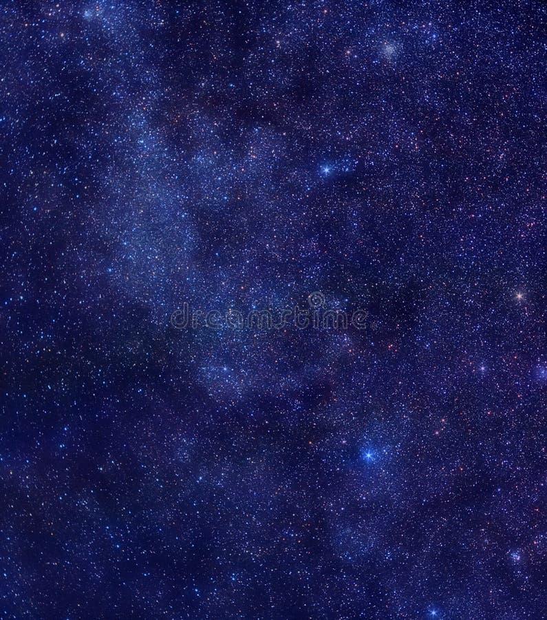 Maneira leitosa na constelação do Cassiopeia imagem de stock royalty free