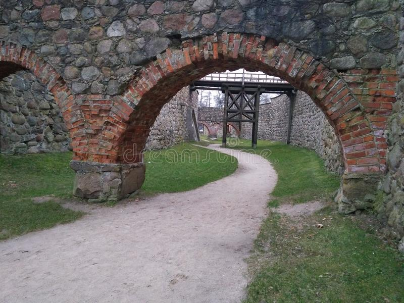 Maneiras do castelo imagem de stock