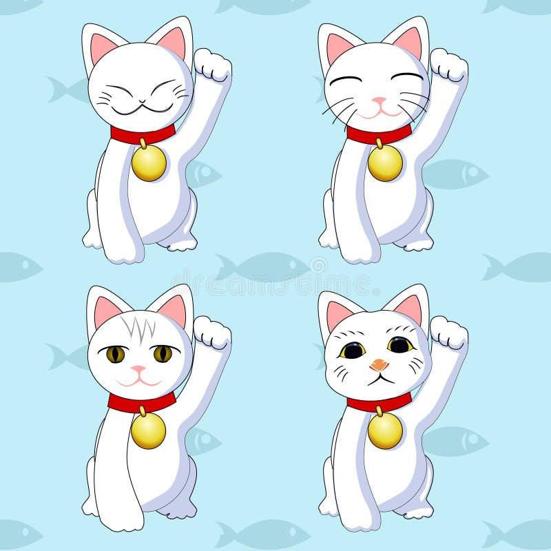 Download Maneki neko vector stock vector. Image of background - 33104202