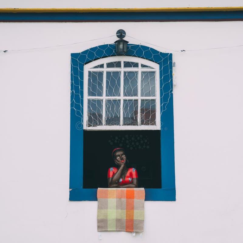 Manequim da mulher negra fotografia de stock