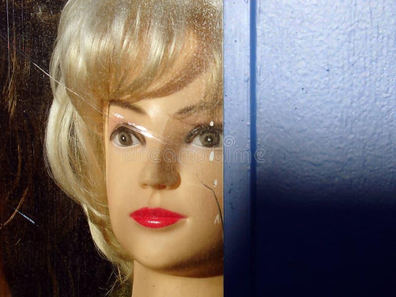 Manequins 4 da peruca imagem de stock royalty free