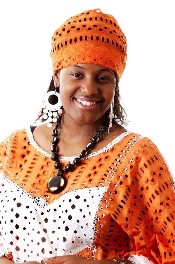 Manera africana del traje fotografía de archivo libre de regalías