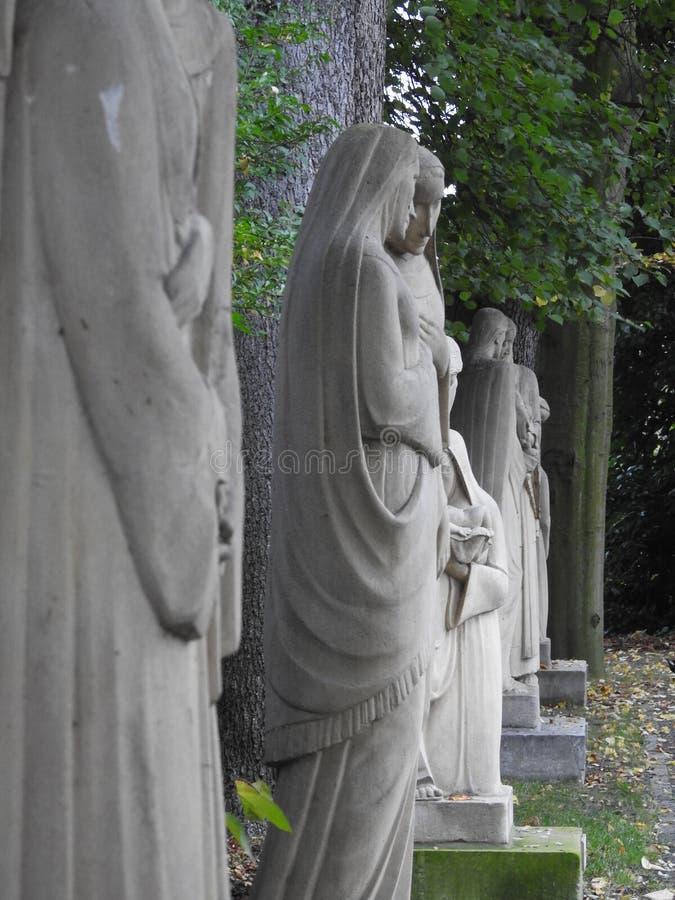 Manera del rosario - Puurs/Kalfort - Bélgica fotografía de archivo