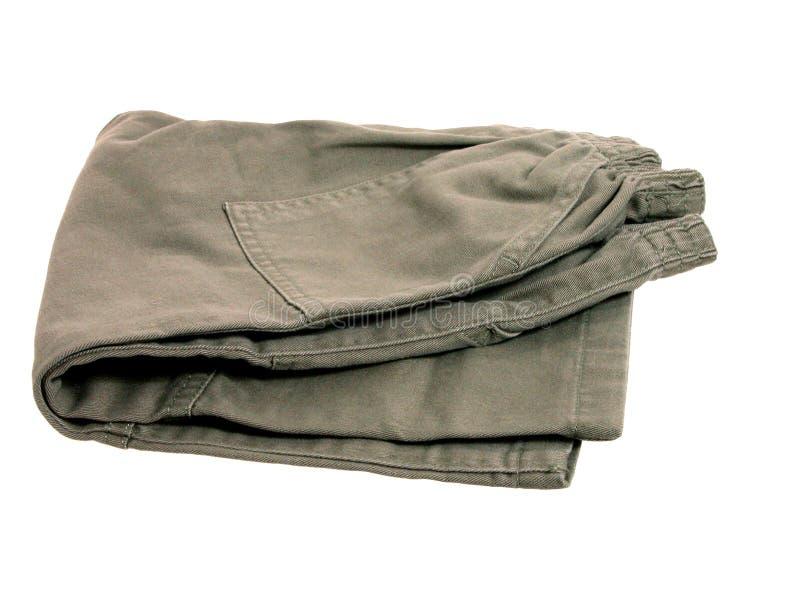 Manera: Pantalones del niño imagen de archivo