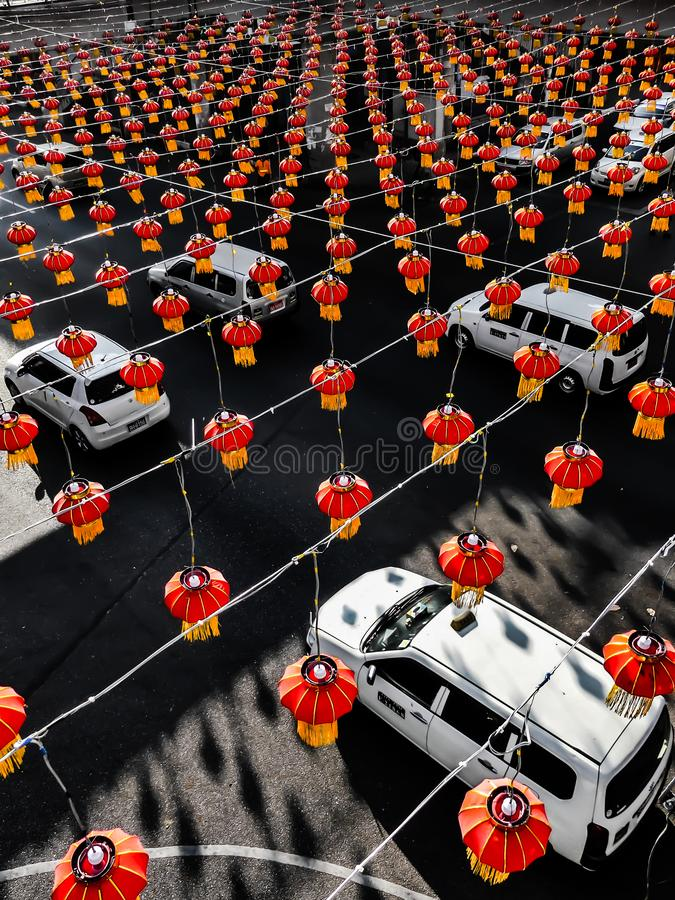 Maneras chinas en Rangún imagen de archivo