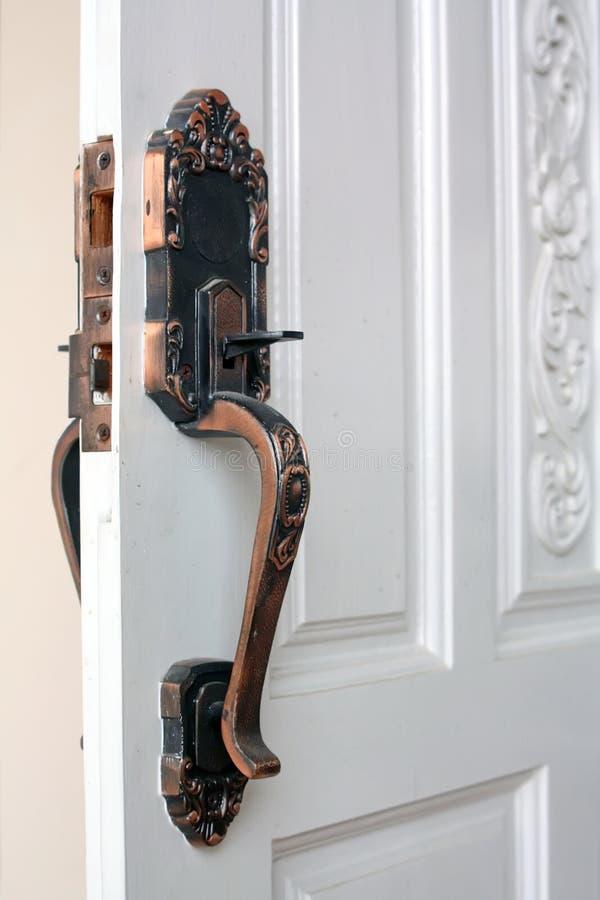 Maneta de puerta imagenes de archivo