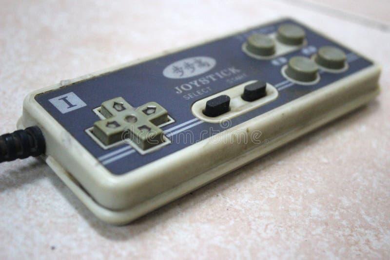 Manette de jeu de manette de Nintendo de manette photo stock