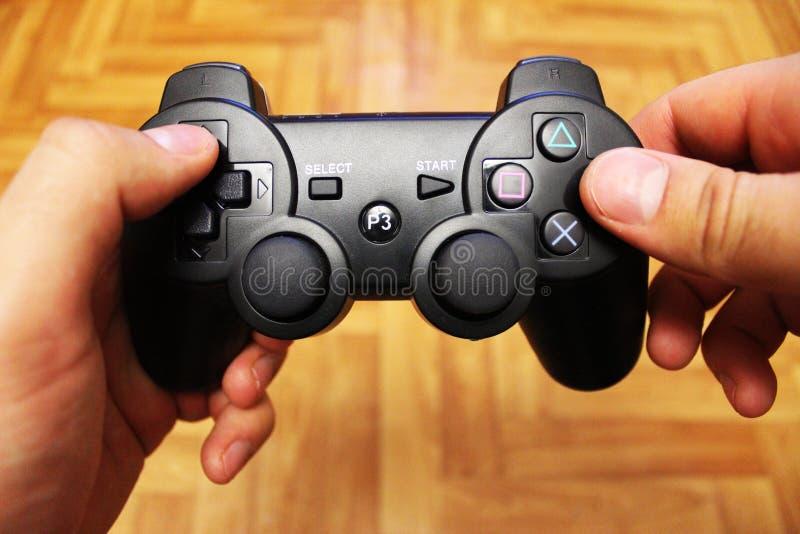 Manette pour des consoles de jeu vidéo photo libre de droits