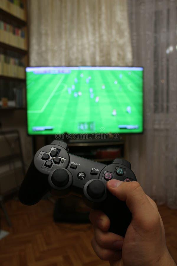 Manette pour des consoles de jeu vidéo photo stock