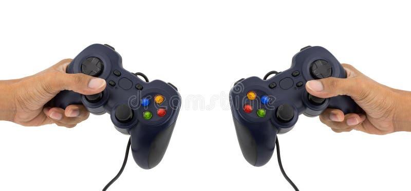 Manette pour des jeux vidéo image libre de droits