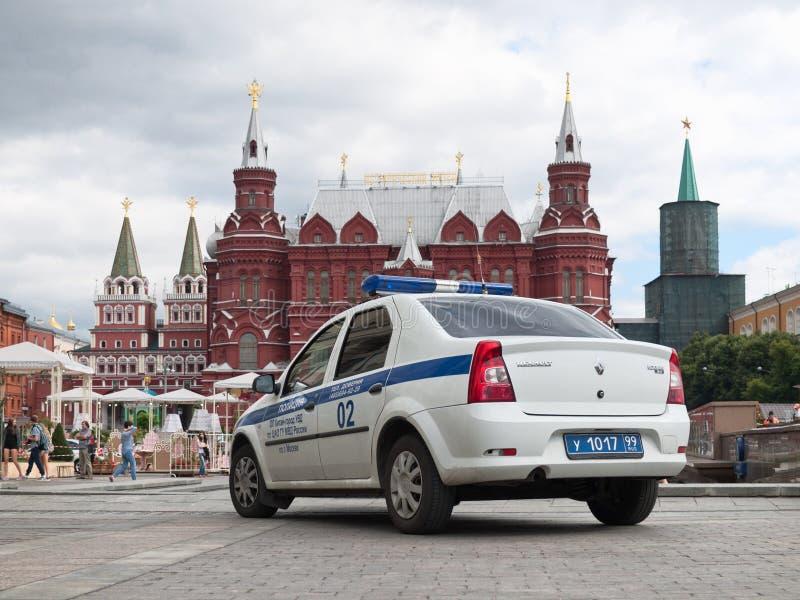 Manezhnaya-Quadrat in Moskau lizenzfreies stockfoto