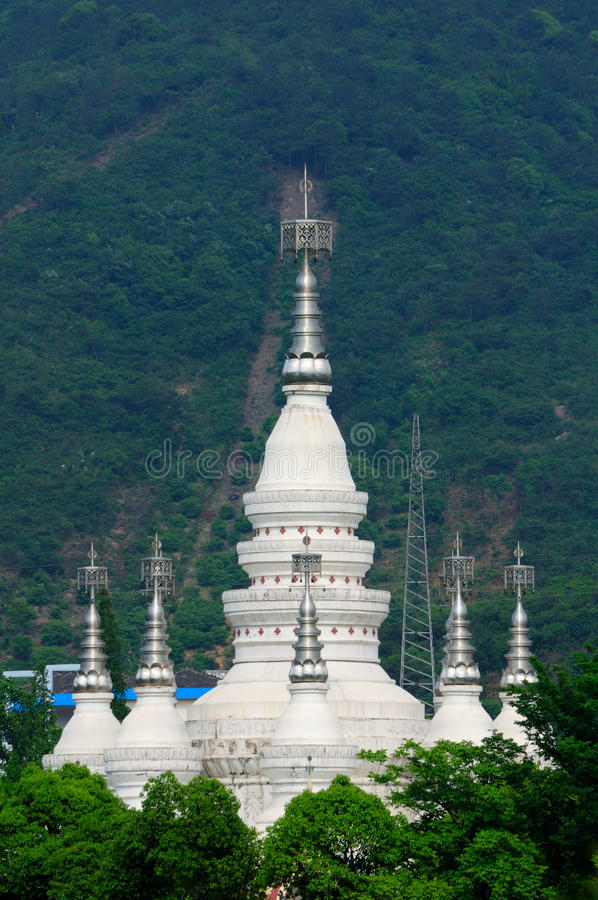 Free Manfeilong Pagoda Wuxi China Stock Image - 67908871