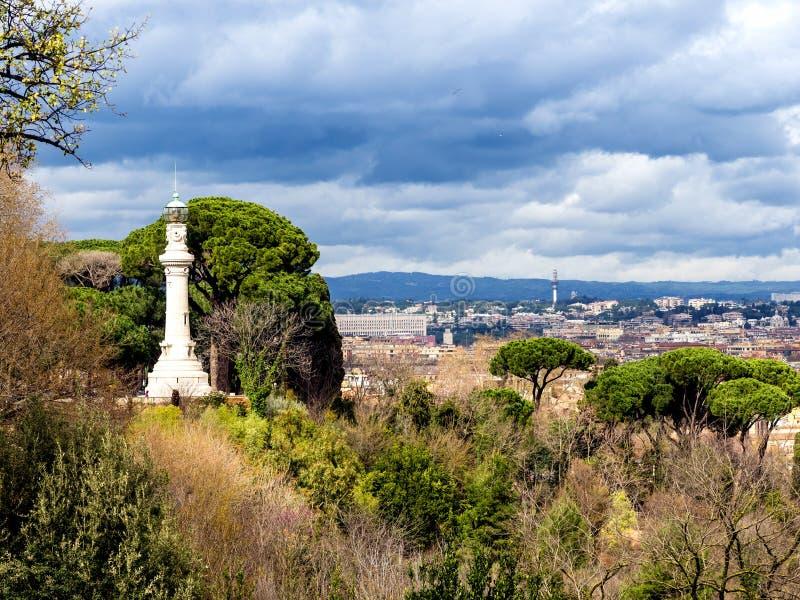 Manfredi Lighthouse à Rome, Italie. photos stock