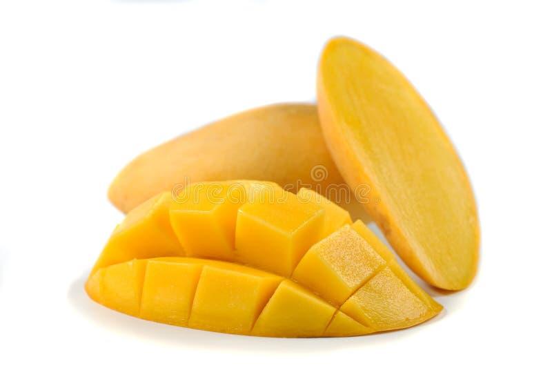 Manga amarela isolada no fundo branco fotografia de stock