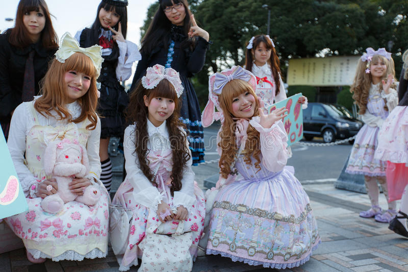 Manga Mädchen lizenzfreie stockfotografie