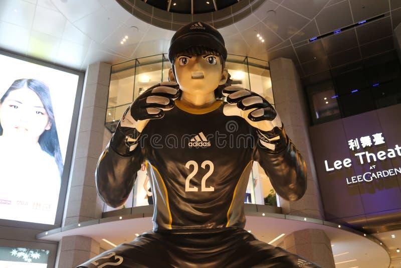 Download Manga Soccer Player Statue Grande Imagen de archivo editorial - Imagen de asia, jugador: 42429534