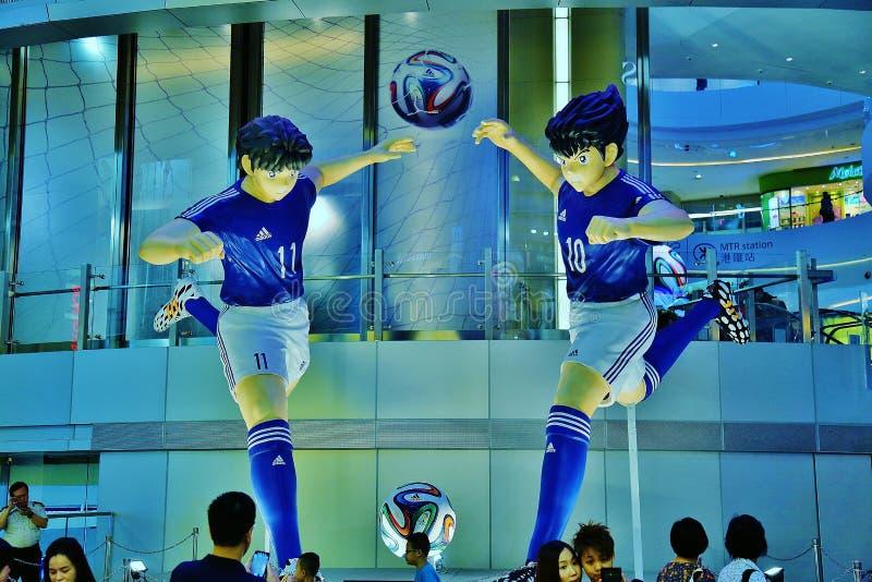 Download Manga Soccer Player Statues Grande Imagen editorial - Imagen de arte, foto: 42426630