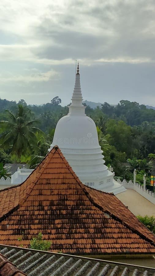 Mangalarama Maha Vihara Chaithya imagen de archivo