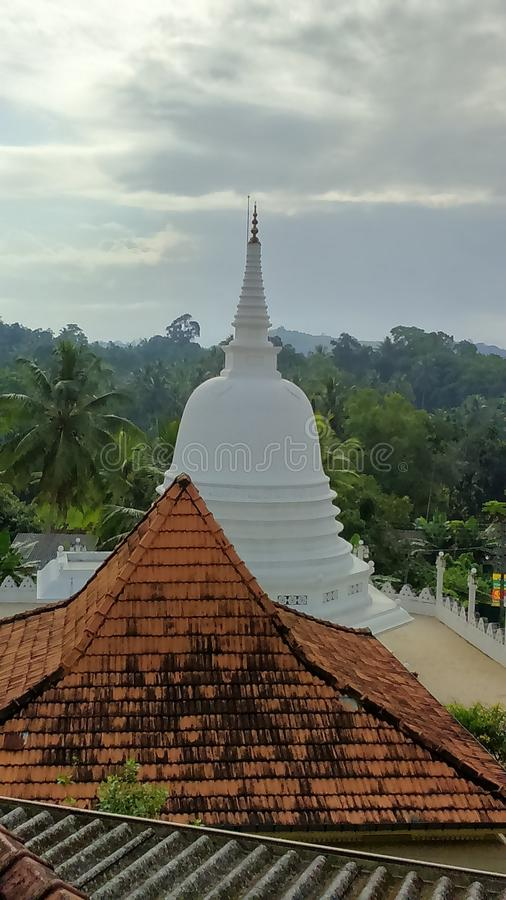 Mangalarama Maha Vihara Chaithya стоковое изображение