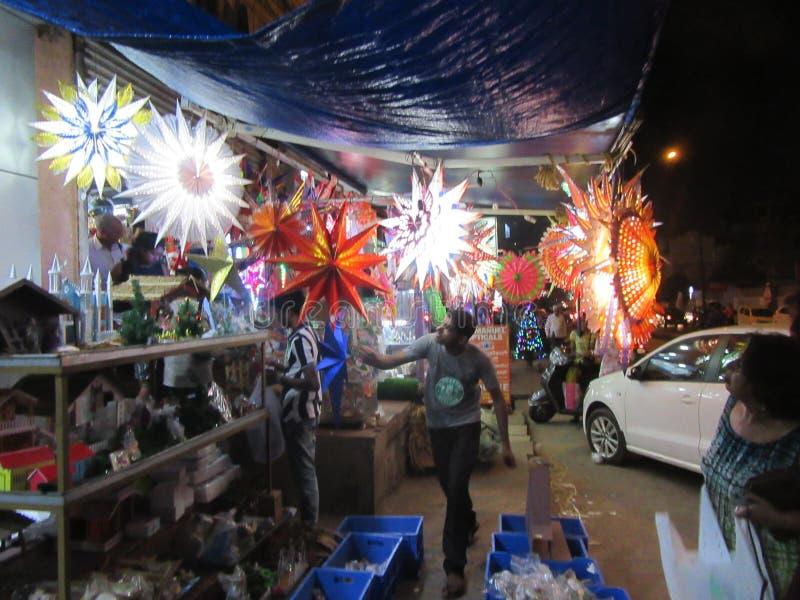 Mangalore en Navidad / Karnataka en el sur de India imagenes de archivo