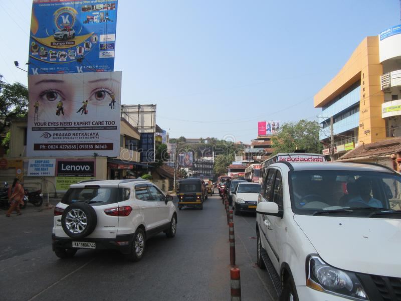Mangalore przy bożymi narodzeniami zdjęcie stock