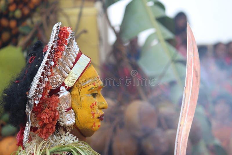 Mangalore tradition Bootharadhane arkivfoton