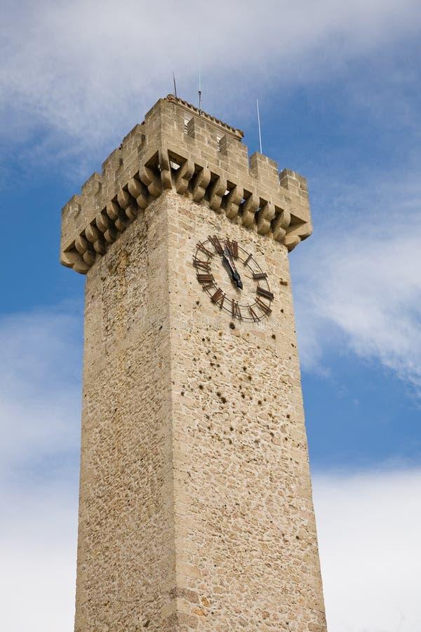 Mangana tower, Cuenca stock image