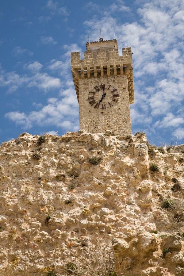 Mangana tower, Cuenca royalty free stock images