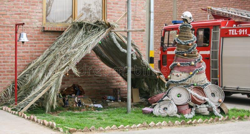 Mangeoire de pompier photo libre de droits