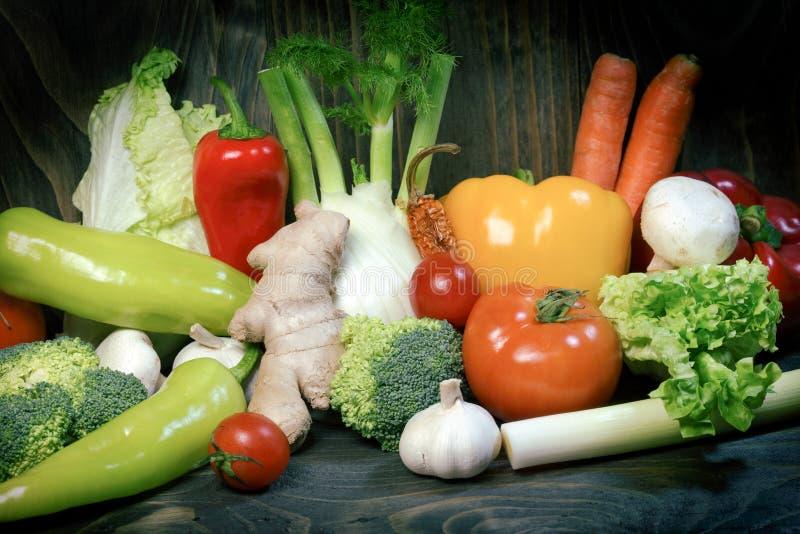 Manger de la nourriture saine, consommation saine pour votre mode de vie sain image stock