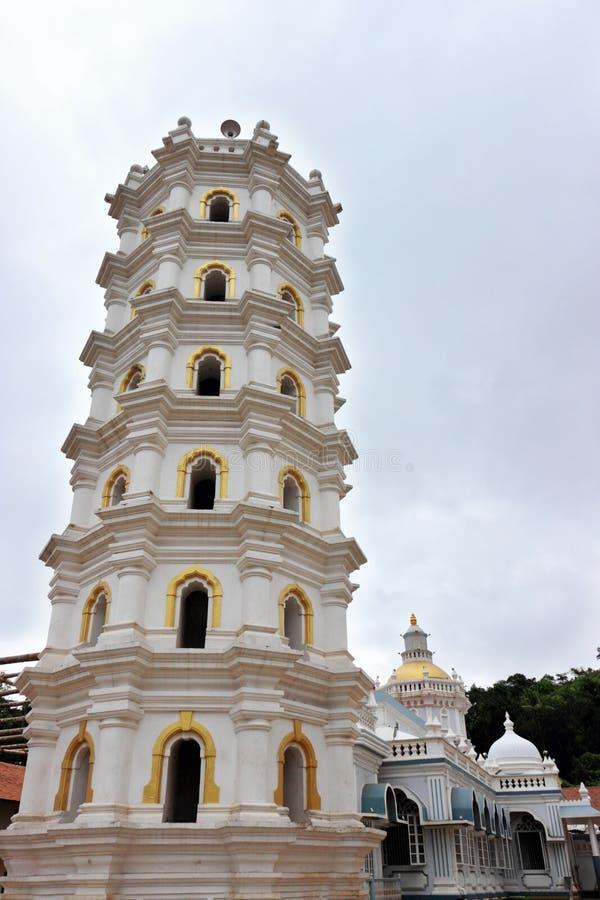Mangeshi Shiva temple, Goa, India stock photography