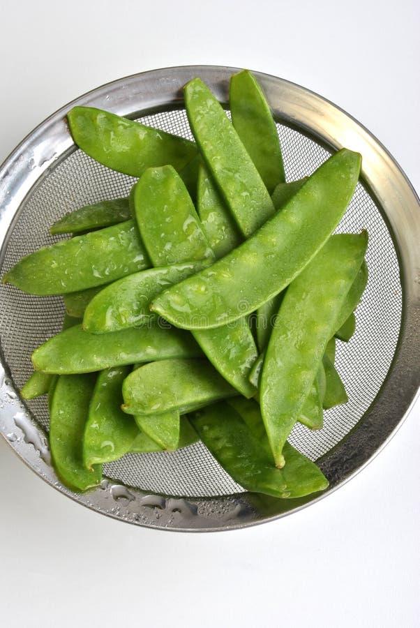 mangetout, also known as sugar snap pea