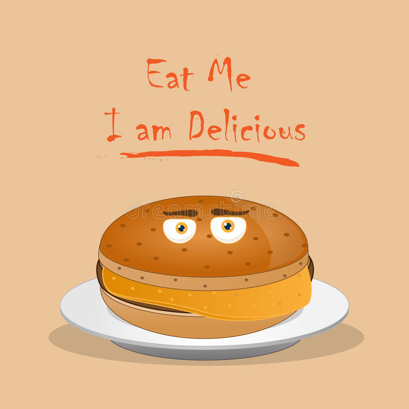 Mangez-moi Photos stock