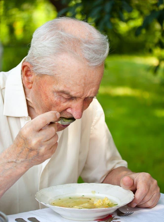 Mangiatore di uomini maggiore immagini stock libere da diritti