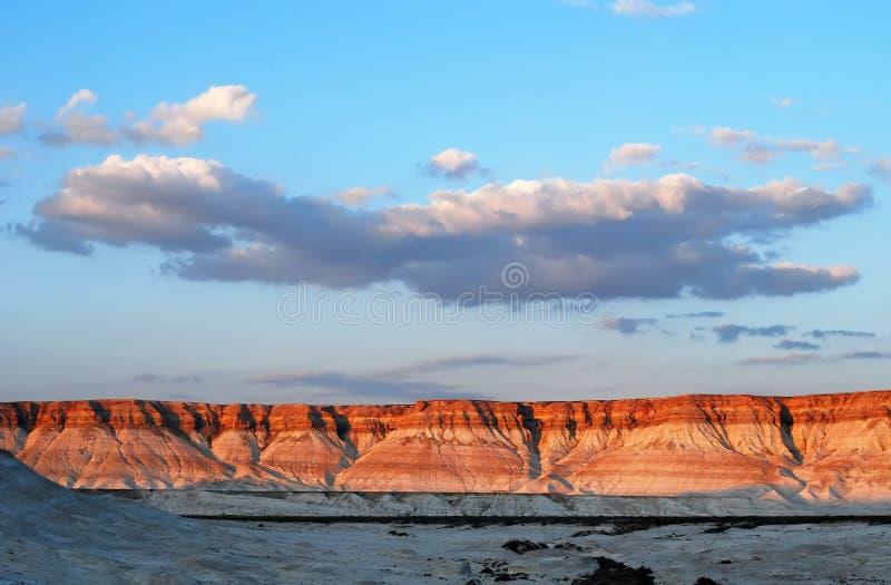 mangistau martian ландшафта kazakhstan стоковые фотографии rf