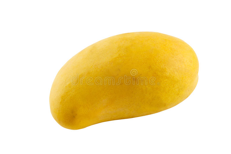 Mango. Isolated on white with clipping path royalty free stock photos