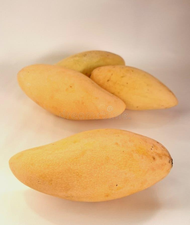 Mango amarillo imagen de archivo libre de regalías