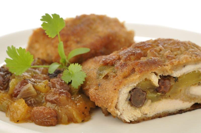 Mango Chicken Stock Images