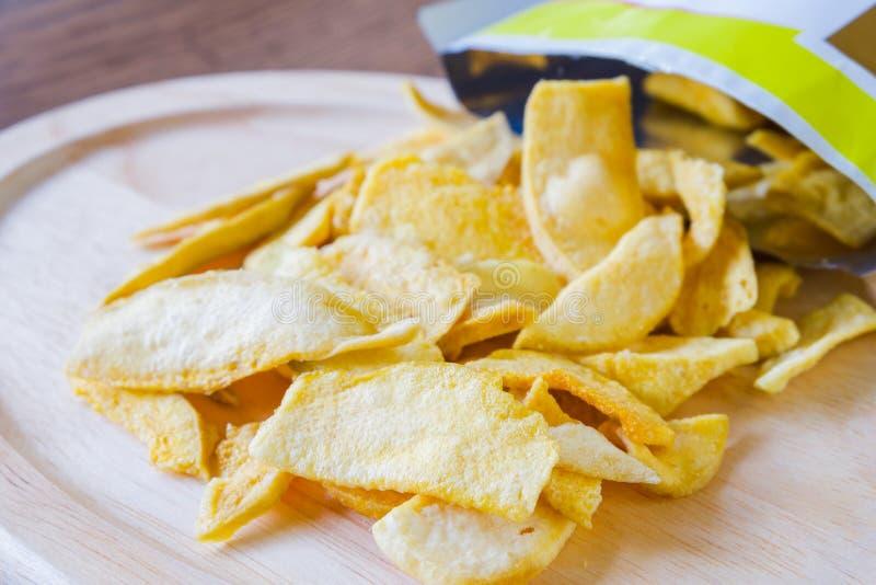 Mango chips stock photos