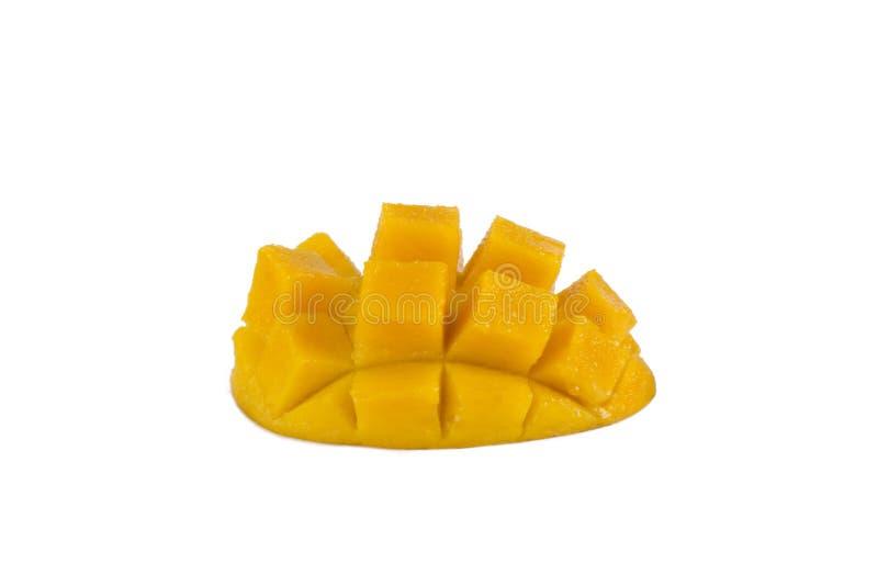 Mango cubese auf weißem Hintergrund lizenzfreie stockbilder