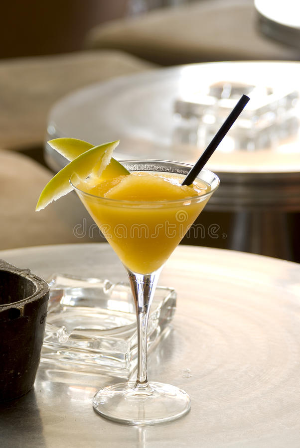 Download Mango Daiquiri stock photo. Image of pellucid, flavour - 15420272