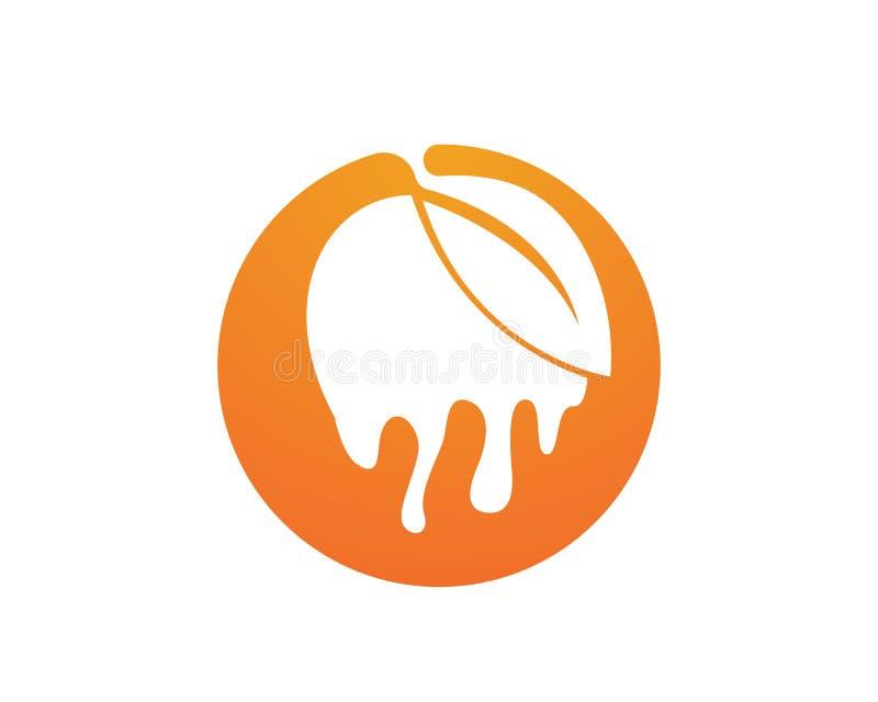 Mango in flat style mango logo mango icon vector image stock illustration