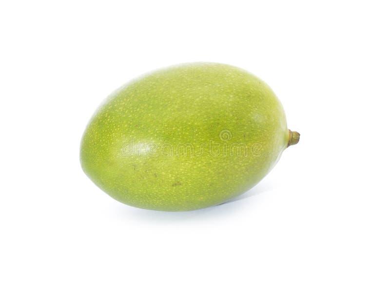 Mango fruit. On white background royalty free stock photo