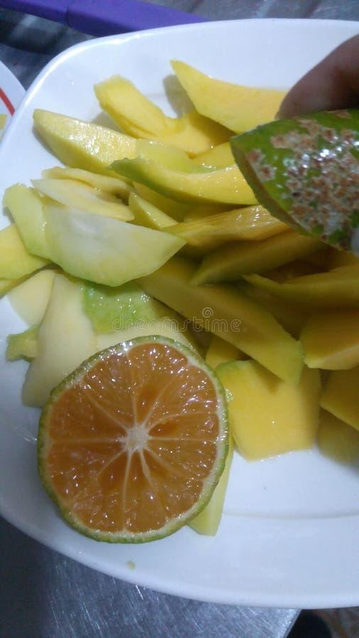 Mango, frutas stockbild