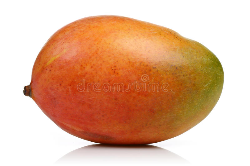 Mango. Isolated on white background royalty free stock image