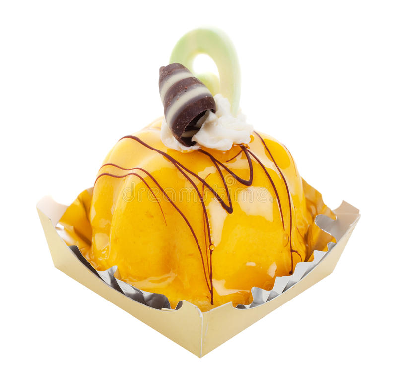 Download Mango Mousse stock image. Image of white, chocolate, curl - 11307207
