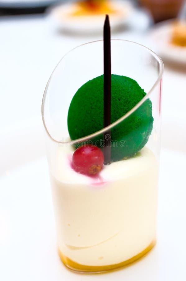 Mango Mousse Dessert Royalty Free Stock Photography