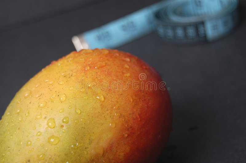 Mango - New Dieting 6 stock images